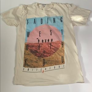 Switchfoot Fading West With You Band  Tshirt